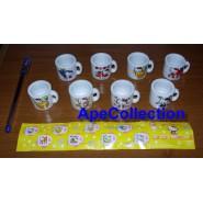 SET 8 Mini MUG CUP COLLECTION 2 HELLO KITTY Bandai