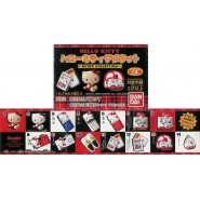 Rare SET 14 Figures MAGNETS Fridge HELLO KITTY APPLE Gasha BANDAI JAPAN
