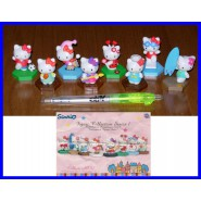 SET 8 Different Figures HELLO KITTY Figure Collection Serie 1 Tomy Sanrio
