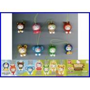 HELLO KITTY Costume Swing ANIMALS Set 8 Figures With Dangler BANDAI Gashapon