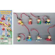 HELLO KITTY Danglers 2 Set 8 Mini Figures 2cm BANDAI Gashapon