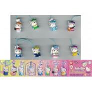 HELLO KITTYCostume Swing DREAMS Set 8 Figures With Dangler BANDAI Sanrio