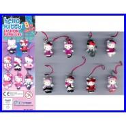 HELLO KITTY FASHION DANGLERS Set 8 Figures With Dangler TOMY Gacha