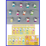 HELLO KITTY SWING BIRTHSTONE Series Set 12 Figures 12 Month With Dangler BANDAI Gashapon