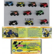RARE Set 10 Different MINI Models 3cm MOTO GP Gashapon VALENTINO ROSSI etc.