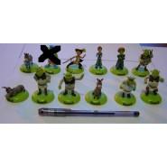 Rare SET 12 Mini Figure SHREK All The Characters FIONA SHREK DONKEY CAT etc.
