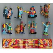 Set 8 Mini Figures PIC-NIC Serie CIRCO CIRCUS Gashapon Original PicNic Pic Nic KINDER Style