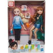 BOX 2 Figures Dolls ELSA and ANNA Frozen from RALPH BREAKS THE INTERNET Original HASBRO E7417