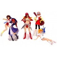 Set 5 Figures GAINAX GIRLS Gals PART 2 EVANGELION NADIA etc.. Original BANDAI JAPAN
