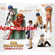 Set 6 Figures EVA GIRLS Evangelion Gals PART 3 Original Gashapon BANDAI JAPAN