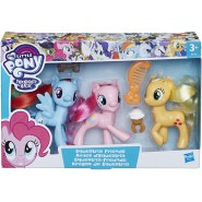 MY LITTLE PONY Tripack with 3 Characters Equestria Friends Original HASBRO E0170