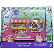 Littlet Pet Shop Playset Knabber Truck LPS Original HASBRO E1840