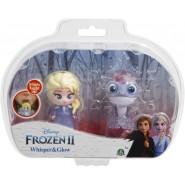 Box 2 FIGURES 6cm Whisper And Glow Characters ANNA AND Bruni Salamander Disney Giochi Preziosi Frozen 2
