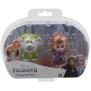 Box 2 FIGURES 6cm Whisper And Glow Characters PABBIE AND ANNA Disney Giochi Preziosi Frozen 2