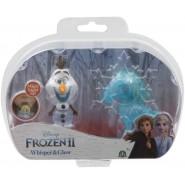 Box 2 FIGURES 6cm Whisper And Glow Characters OLAF AND NOKK  Disney Giochi Preziosi Frozen 2