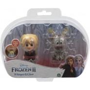 Box 2 FIGURES 6cm Whisper And Glow Characters KRISTOFF AND SVEN Disney Giochi Preziosi Frozen 2