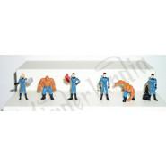 Rare COMPLETE SET 6 Mini Figures FANTASTIC 4 Original Giochi Dolci Salati Preziosi MARVEL