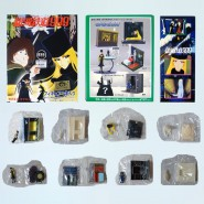Set 8 Trading Figures GALAXY EXPRESS 999 Vignette ORIGINAL from JAPAN New