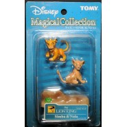 RARE BOX 2 Figures SIMBA and NALA Re Leone TOMY MAGICAL COLLECTION Nr. 102 Giappone