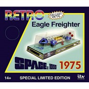 SPAZIO 1999 EAGLE FREIGHTER 30cm Die Cast SPECIAL Edition RETRO 1975 Limited Numbered