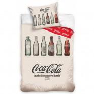 Bed Set COCA COLA Bottles Duvet Cover 140x200 Pillow Cover 70x90cm Cotton ORIGINAL