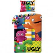 BED SET 140x200cm UGLY DOLLS Animated Movie 70x90cm 100% Cotton Original