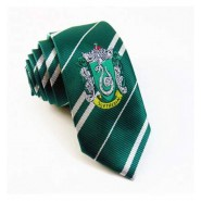NECKTIE With House Crest SLYTHERIN Original ADULT 140cm Harry Potter OFFICIAL