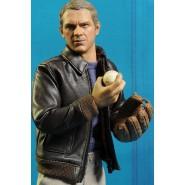 RARE Figure 18cm STEVE McQUEEN Movie Icons with TIN BOX Reel ORIGINAL Sd Toys