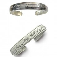 ELVEN BRACELET Lord Of The Rings The One Ring Writing OFFICIAL with Gift Box and Certificate