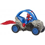SPIDER MAN Vehicle SPIDER-HAM 13cm with FIGURE RIP N GO And Accessories BLAST AND GO Hasbro E7738