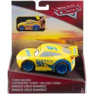 Model Car CRUZ RAMIREZ 12cm Turbo Racer from CARS Original MATTEL FYX42