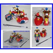 RARE Gadget Playset SIDECAR Donald Duck Fethry Duck DISNEY Italy
