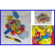 DISNEY Gadget Topolino Mickey Mouse Mutlicopter Donald Duck Gyro Gearloose PLAYSET