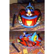 DISNEY Gadget Topolino Mickey Mouse Ship Boat WATERJET Paperinik PK Super Hero PLAYSET