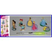 RARO Set 7 Characters Disney PRINCESS FOREVER Cinderella Jasmine Snow White Belle Aurora