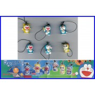 DORAEMON MINI SWING Set 6 Figures With Dangler BANDAI Gashapon