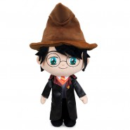 PLUSH Big 29cm HARRY POTTER Griffyndor With HAT And Cloak Warner Bros ORIGINALE PlayByPlay