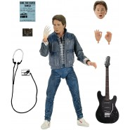 FIGURE Ultimate MARTY McFLY 18cm Version AUDITIONS Battle of The BANDS from BACK TO THE FUTURE Original Official NECA
