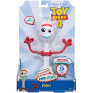 Plush FORKY 20cm from TOY STORY 4 With SOUND Talking ITALIAN Top Quality ORIGINAL Mattel