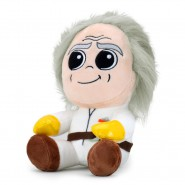 Plush Soft Toy 20cm DOC BROWN From Movie Back To The Future BTTF Phunny Kid Robot