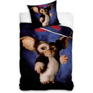 Bed Set GREMLINS 2 GIZMO The New Batch  DUVET COVER 140x200cm + Pillow Cover 70x90cm Cotton Carbotex