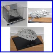 Metal Lead Model Vehicle Space Ship MILLENIUM FALCON Star Wars Original De Agostini Serie 2