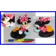 RARE Figure MINNIE Mouse Dress POIS BEEVA Disney De Agostini 3D Collection SERIE 1