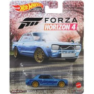Die Cast Model NISSAN SKYLINE H/T 2000 Videogame FORZA HORIZON 4 Scale 1:64 6cm HotWheels GRL69