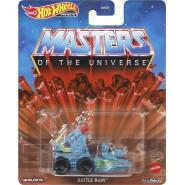 Die Cast Model Vehicle BATTLE RAM Master Of The Universe Scale 1:64 6cm Hot Wheels