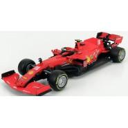 Model FERRARI SF 1000 GP di Austria GP 2020 1/43 12cm of LECLERC Original Die Cast Bburago Race 18-36823