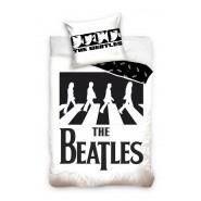 Bed Set THE BEATLES Abbey Roadn DUVET COVER with zipper 140x200cm + Pillow Cover 70x90cm Cotton Carbotex