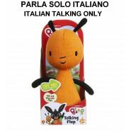 PLUSH Soft Toy FLOP 22cm TALKING (ITALIAN LANGUAGE) From Cartoon BING Sound Original GIOCHI PREZIOSI