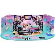 GRUNGE GRRRL at MUSIC FESTIVAL Mini Playset Diorama L.O.L. FURNITURE Serie 2 Original MGA LOL