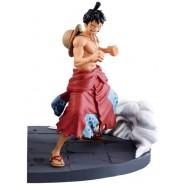 ONE PIECE Figure Statue 13cm LUFFY Version LOG FILE SELECTION Original BANPRESTO 82760